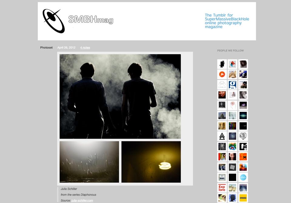 SMBHmag Tumblr - Julia Schiller